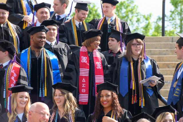 TU Law graduates in May 2018